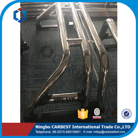High Quality Stainless Steel Double Pipe Style Auto Accessories Roll Bar For Toyota Hilux Vigo 2012
