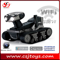Ios android wifi control rover live spy tank with real time camera