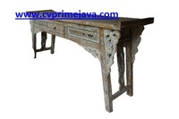 ANTIQUE RECYCLED CONSOLE TABLE CS01