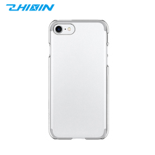 Shenzhen phone cover manufacturers recycled 5.5 inch slim transparent PC phone case cover for iphone 8