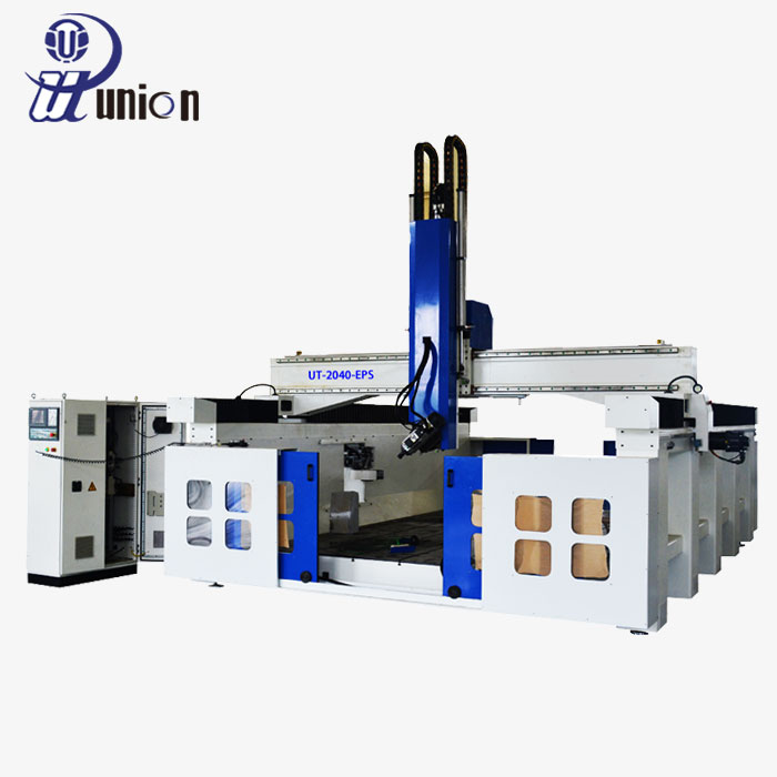 Latest designs foam cutting machine for column wood carving ut2050