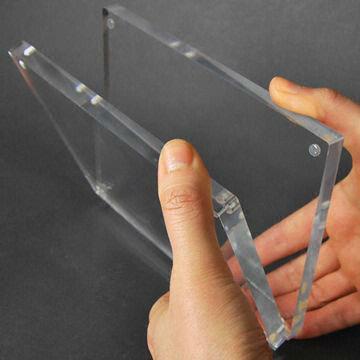 costumbre acrílico transparente 5x7 marco de fotos magnético-Marco ...