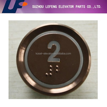 cheap price customized push button, elevator parts