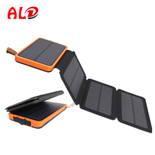 High capacity waterproof solar power bank with quality warranty