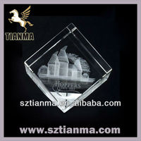 Personalize crystal wedding gift souvenir