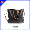 hot selling new design ladies mature graceful tote bag, PU leather duffel bag