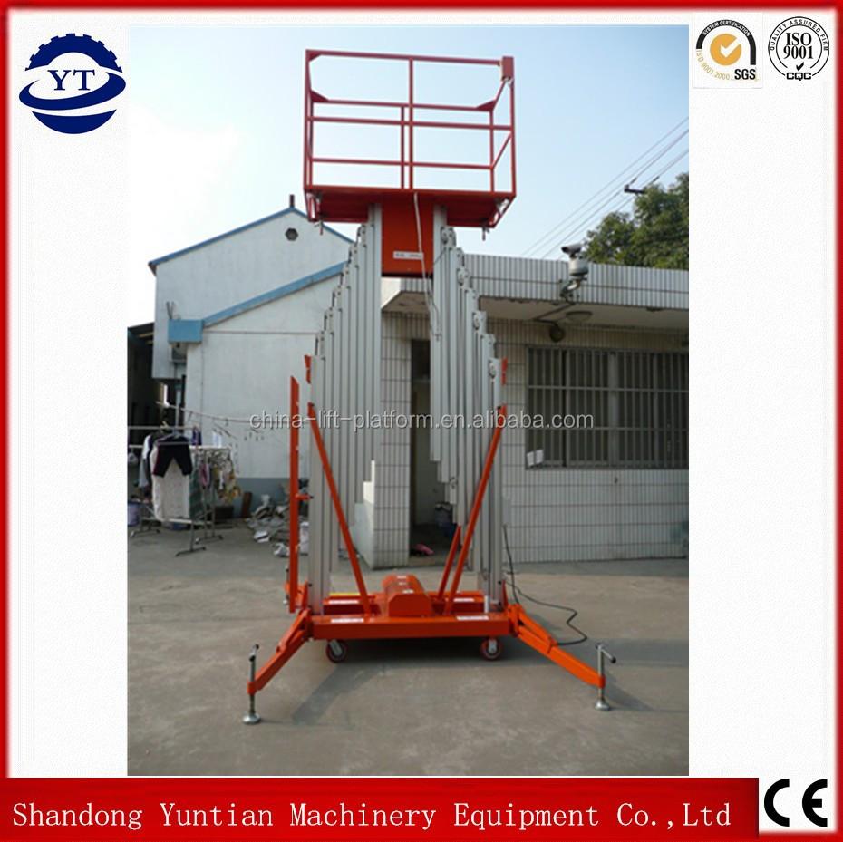 Electric Scaffold Hoist Lift : Aluminum scaffold vertical lift up mechanism electric