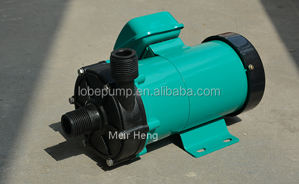MP PP PVDF magnetic drive centrifugal circulation water pump booster water pump