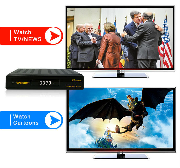 digital satellite receiver nilesat openbox V8 combo internet key sharing receiver upgrade iclass 9595x pvr