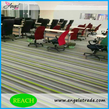Mini golf carpet exhibition carpet pvc polyester woven carpet