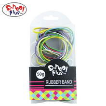 Color 50g silicon rubber band thailand