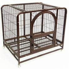 custom made cheap 48 comfortable removable pink dog crate