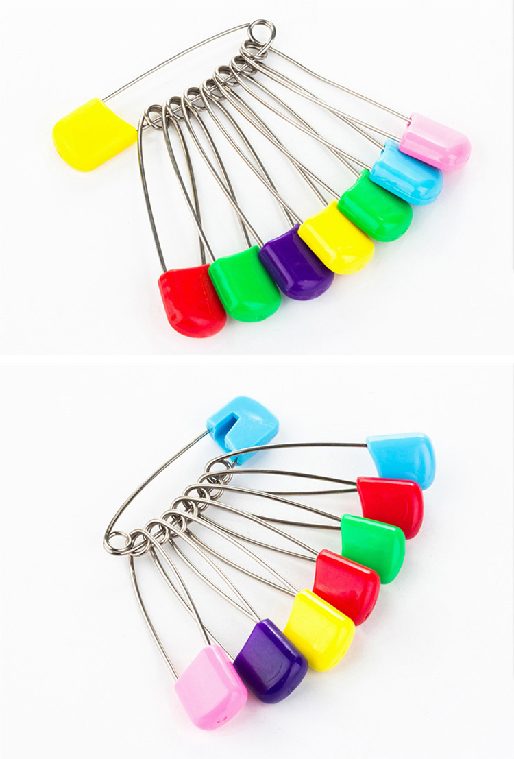 Resilience resistant stainless steel baby safety pin