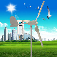 Hot selling Long Life span Easy To Install 100W 300w 3 Blades DC motor wind turbine