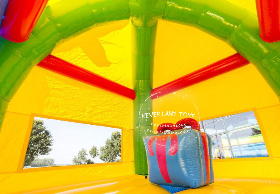 Jumping Bouncer Inflatable Bouncy Castle Bounce House With Water Slide