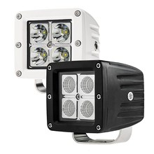 "3.5"" LED Light Pod 2x2 Pair, 12/24v LED Searchlight Working Lights, 16w Square Off Road Work Lights"