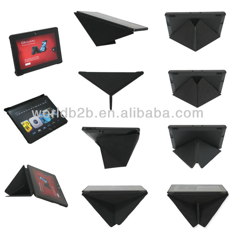 ODM or OEM The Transformers Leather case for kindle fire HDX 7