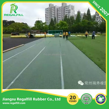 Good Water Drainage PE Shockpad/Underlay for FIFA fields Artificial grass Sport fields
