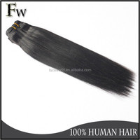 Top quality 100% remy virgin human hair coarse yaki hair extension