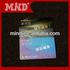CR80 standard printing machine plastic business card