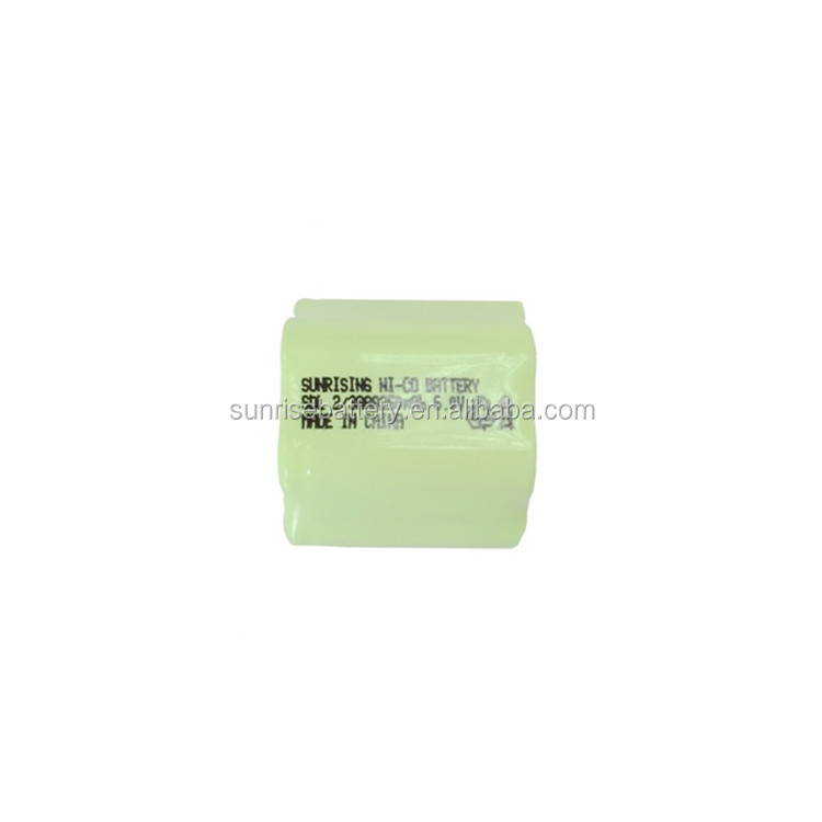 2/3AAA 6V 250mah NI-MH battery pack/3.6V Ni-MH rechargeable Battery