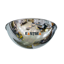 Hot Sale Silvery Full dome 360 View Traffic Convex Mirror