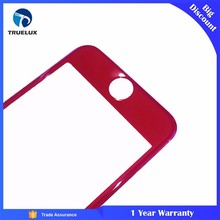 New Arrival Screen Protector for iPhone 6S Red 3D Full Covered Tempered Glass