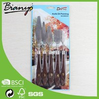 BN9301 art knife/palette knife oil painting 5pcs per set