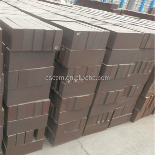 low price high chrome refractory brick for secondary refining furnace