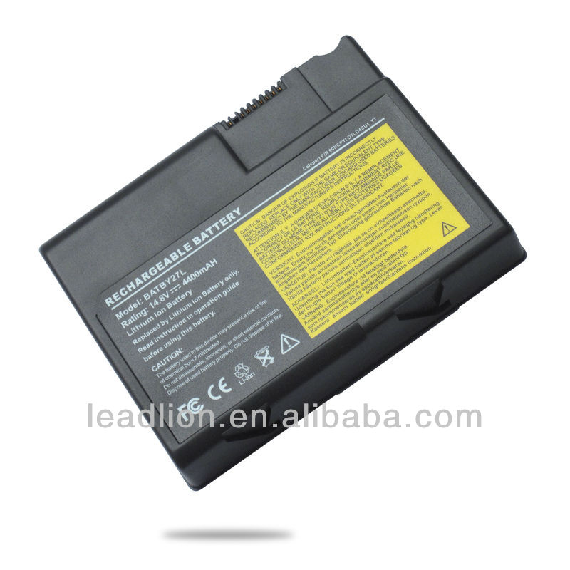 notebook battery/laptop battery for Acer 270 272 273 A550 1200 BAT30N3L BTP-550 series