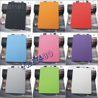 50pcs high quality lowest price flip pu leather case for ipad air 3 free shipping via DHL