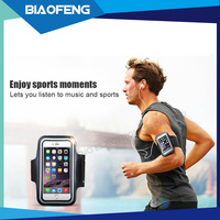 2016 new product reflective cell phone neoprene armband for samsung galaxy s7 made in china
