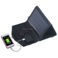 high quality! flexible monocrystalline 9v mini solar panel with dual output DC18V &USB5V for phones, DV