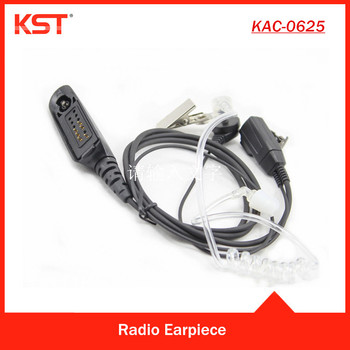 Acoustic Air Tube Earpiece for Portable Two Way Radio