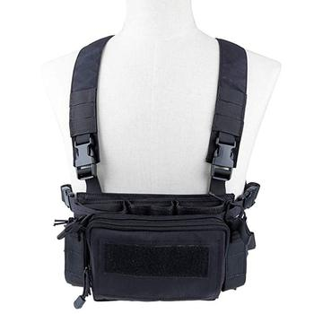 500D Nylon Camouflage Tactical Vest Airsoft Ammo Chest Rig 5.56 9mm Magazine Carrier Combat Tactical Military