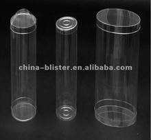Cylinder plastic packing/PVC PET PP PS/Clear OR PRINTING