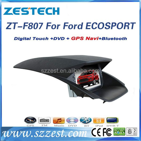 ZESTECH Most Popular auto radio touch screen car dvd gps for FORD ECOSPORT with 2 din touch screen for FORD ECOSPORT