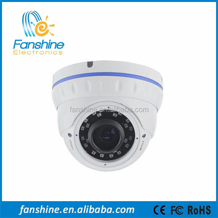 Factory Price Manual Zoom Lens POE Video IP HD Dome Surveillence Camera With IR-CUT
