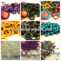 colored rubber ring for ISO 3601, AS 568A, rubber o ring DIN 3771, JIS B2401