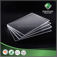 KINGSCOPE clear flexible highly transparent acrylic resin sheet