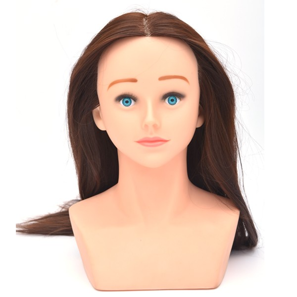 Cheap hairdresser mannequin head for hairdresser hairdressing dolls head mannequin heads human hair
