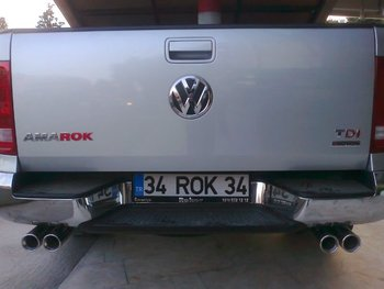VW Amarok Full Exhaust Set