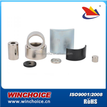 Ni , Zn , gold , copper , epoxy Coating Sintered Neodymium Magnets ring , block , disc , bar