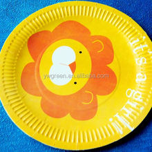 paper pizza plates,bird paper plates,custom printed paper plates