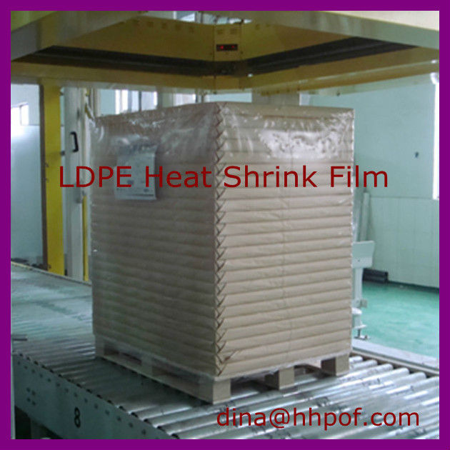 Clear Polyethylene / Pe Plastic Heat Shrink Film