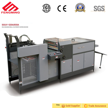 Automatic Digital UV Varnishing Coating Machine with 780*1150mm