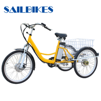 Cheap Wolesale Steel Electric Tricycle Adults For Sale