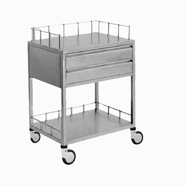 K4 Hospital Oral Medical Trolley with Drawers