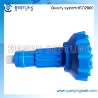 BESTLINK High Air Pressure Pneumatic Drilling DTH Button Bit with foot valve for COP DHD MISSION SD QL IR