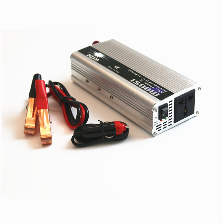 Used car battery dc to ac 1500W solar inverter inversor for Electric hand tool